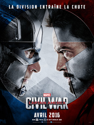 Captain America, civil war (FR1petit)