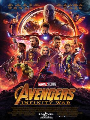 Avengers, infinity war (FR2petit)