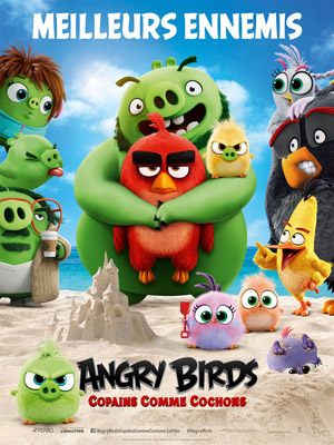 Angry birds, copains comme cochons (FR1petit)